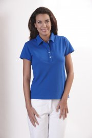 Polo Ladies Shirt, Royal Blue, 1/2, 58 cm