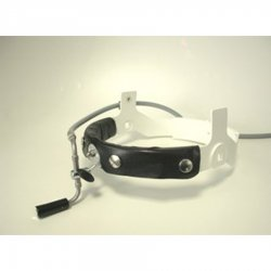 Fiberoptic surgical headlight with high comfort