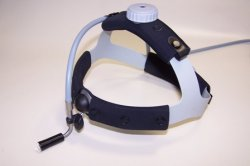 OT - Headlight - Fiberoptic, Headband with top