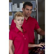 "Ladies Polo Shirt ""Bordeaux"", 1/2, 58 cm"