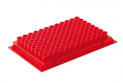 PCR racks red